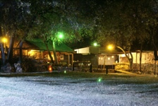 NIGHT LIGHTS-CAMP VENUE-VAAL RIVER-FREESTATE-SOUITH AFRICA