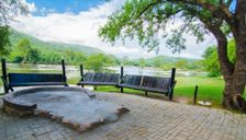 RIVERSIDE DECK-CAMP VENUE-VAAL RIVER-FREESTATE-SOUITH AFRICA