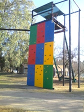 HIGH ROPES BEAMS-CAMP VENUE-VAAL RIVER-FREESTATE-SOUITH AFRICA