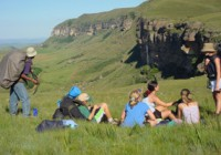Visitors to our Drakensberg venue