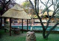 Pool & Lodge From Braai Area
