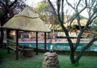 Pool & Lodge From Braai Area