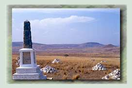 History Tour-British Memorial-Zululand-Battlefields