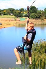 ZIP LINE FOEFIE SLIDE ACTIVITIES FOR GROUP CAMPS IN SOUTH AFRICA