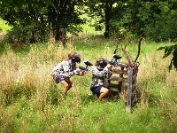 PAINT BALL ACTIVITIES FOR GROUP CAMPS IN SOUTH AFRICA