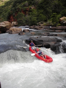 White Water Rafting At Blyde River