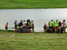 KZN Midlands Camp Raft Building