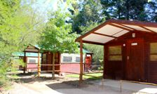 Grabouw Camp Venue Accommodation Log Cabins Exterior 2