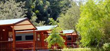 Grabouw Camp Venue Accommodation Log Cabins Exterior