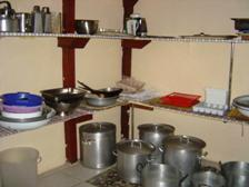 Western Cape Camp Kitchen Interior 4