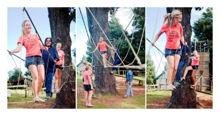 Eastern Cape Hogsback Middle Ropes Course