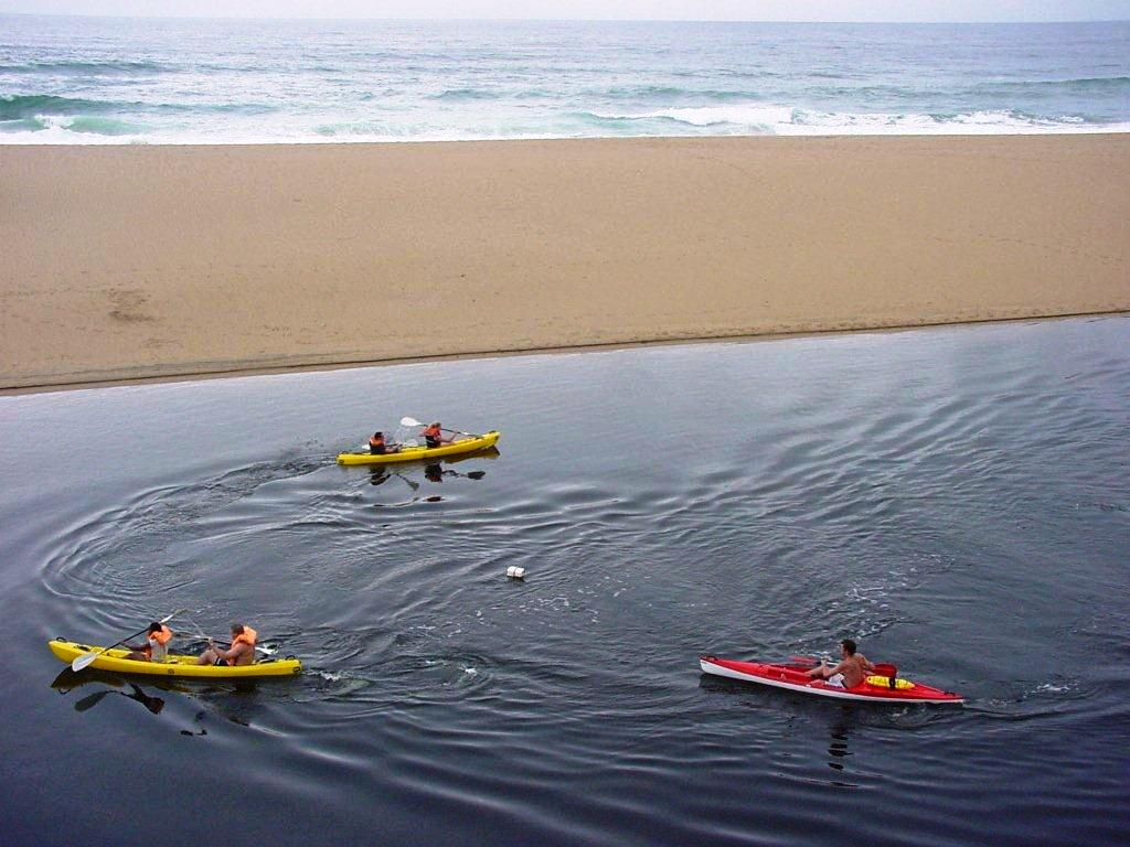 Kayaking beach lagoon-Group-Camp-Venue-Pennington-KZN-South Coast-South Africa