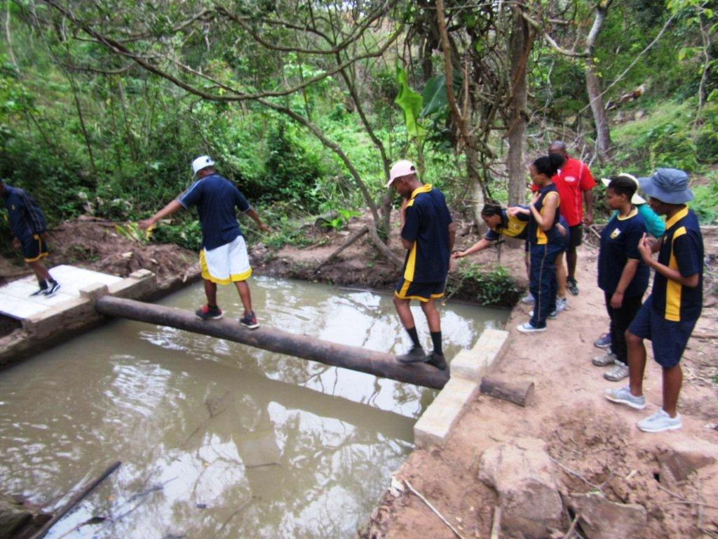 Obstacle course 1-Group-Camp-Venue-Pennington-KZN-South Coast-South Africa