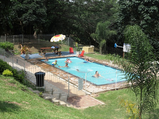 Swimming pool-Group-Camp-Venue-Pennington-KZN-South Coast-South Africa