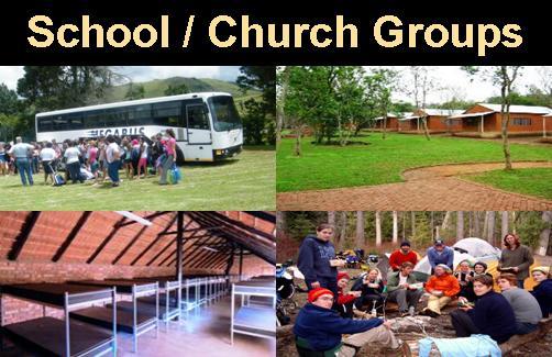 School Groups           Church Groups